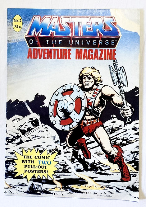 He-Man And The Masters Of The Universe Adventure Magazine No. 2  1987