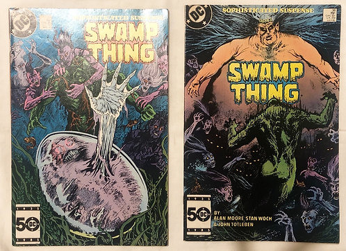 DC Swamp Thing No. 38 And No. 39 1985