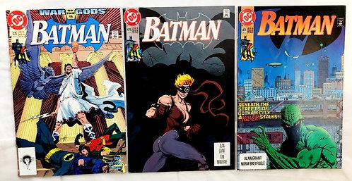 Batman Comic Set #470 #471 #479