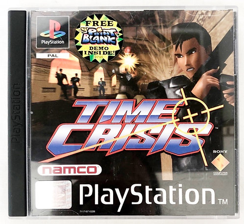 Time Crisis PlayStation Games U.K. (PAL)