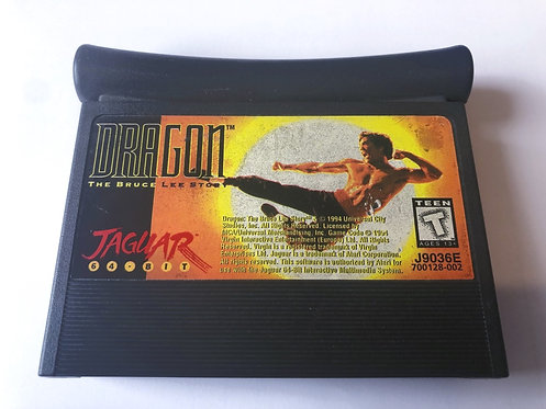 Dragon The Bruce Lee Story (Jaguar Pal) Cartridge Only
