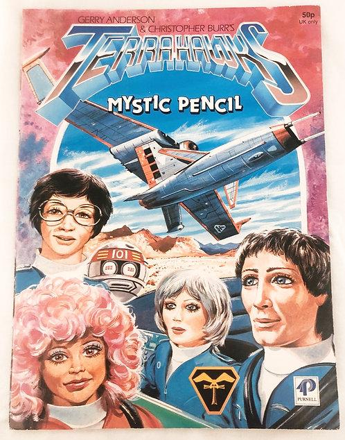 Terrahawks Mystic Pencil Book