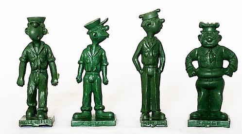 MPC Beetle Bailey Figure Set 1964