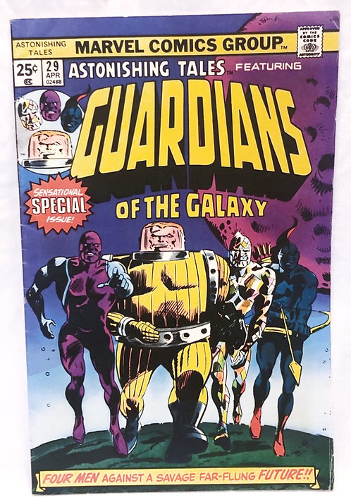 Astonishing Tales Guardians Of The Galaxy 1975
