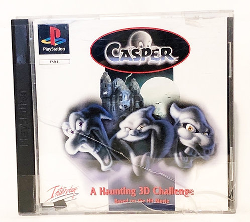 Casper PlayStation Game U.K. (PAL)