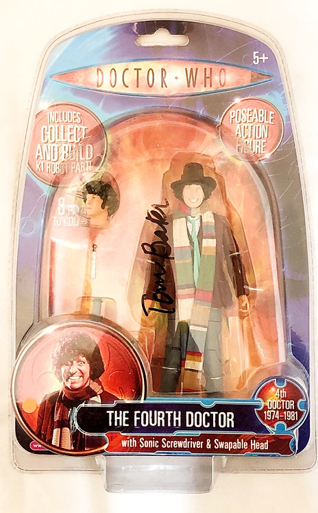 Doctor Who The Fourth Doctor Signed By Tom Baker