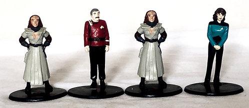 Star Trek The Next Generations Figures Set