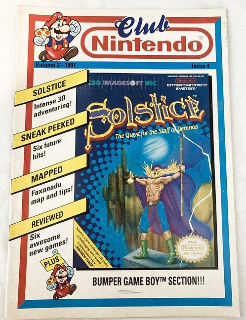 Club Nintendo Magazine Volume 3 (1991) Issue 4 (UK version)