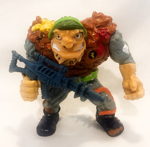 Teenage Mutant Hero Turtles General Traag Playmates 1989