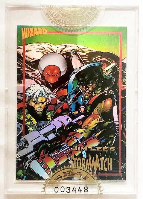 Wizard Magazine Limited Edition Sealed Gold Promo Card Storm Watch 199