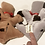 Thumbnail: Pound Puppies New Born Set With Bed Hornby 1984