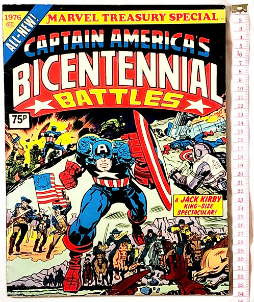 Captain America Bicentennial Battles Marvel Treasury Special 1976