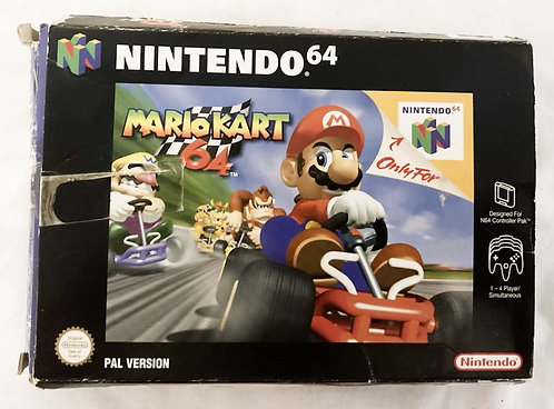 Nintendo N64 Mario Kart 64 (PAL) 1997