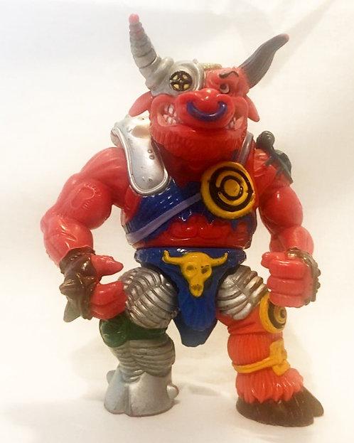 Teenage Mutant Hero Turtles Groundchuck Figure Playmates 1991