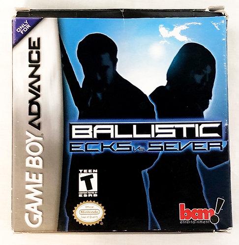 Ballistic CCKS Vs Sever Nintendo Gameboy Advanced