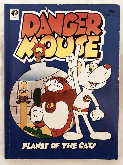 Danger Mouse Planet Of The Cats Storybook 1982