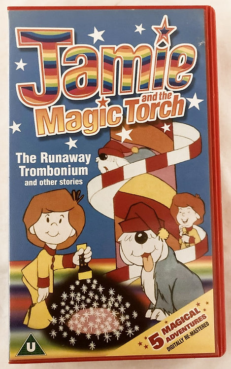 Jamie And The The Magic Torch The Runaway Trombonium VHS