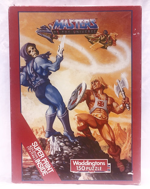 He-Man And The Masters Of The Universe 150 Piece Puzzle With Poster