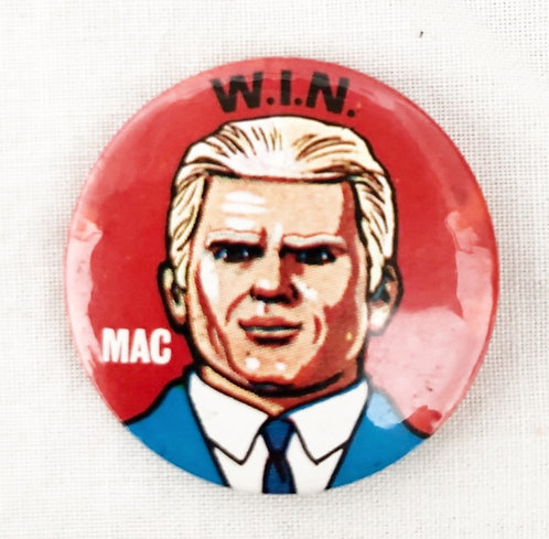 Joe 90 W.I.N. 'Mac' Pin Badge