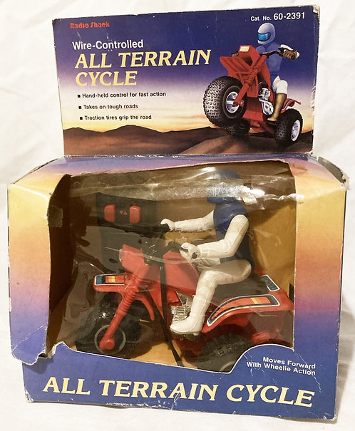 Radio Shack All Terrain Cycle Wire-Controlled Tandy