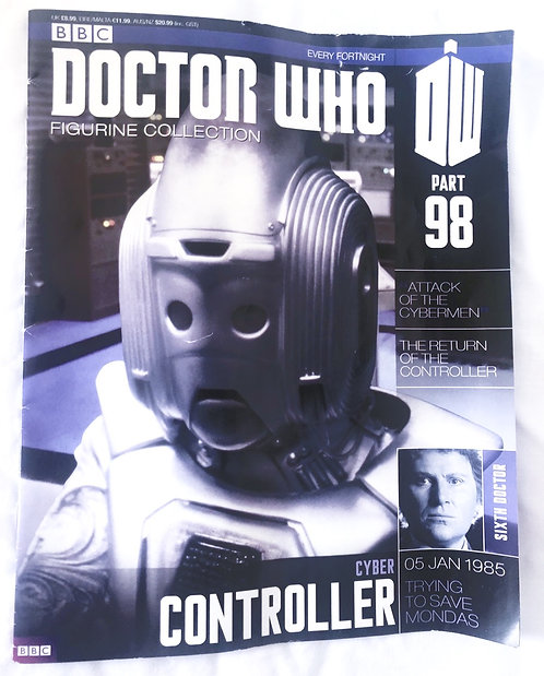 Doctor Who Figurine Collection 98 Cyber Controller