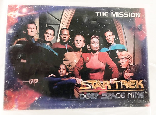 Star Trek Deep Space Nine The Mission Trade Cards Skybox 1994