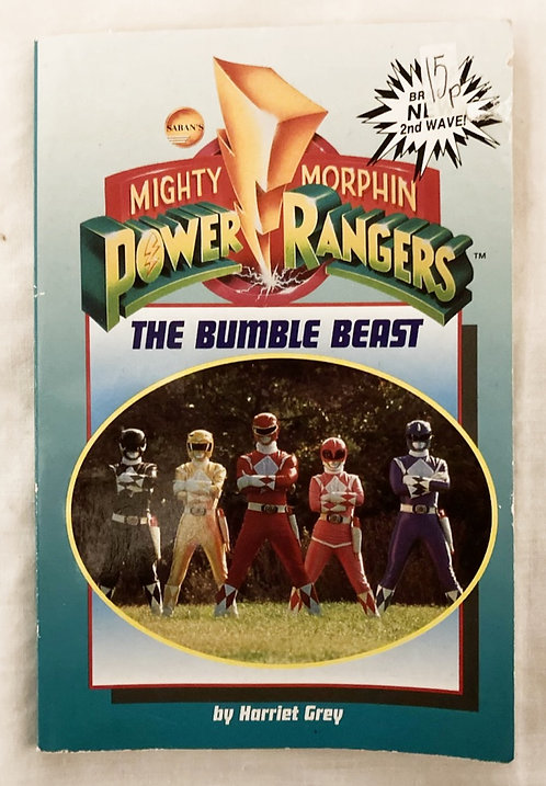 Might Morphin Power Rangers The Bumble Beast Book Saban's 1994