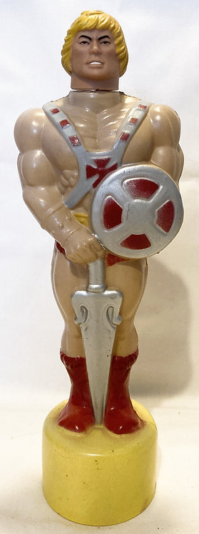 Vintage He-Man And The Masters Of The Universe Heman Bubble Bath (Empty) 1983