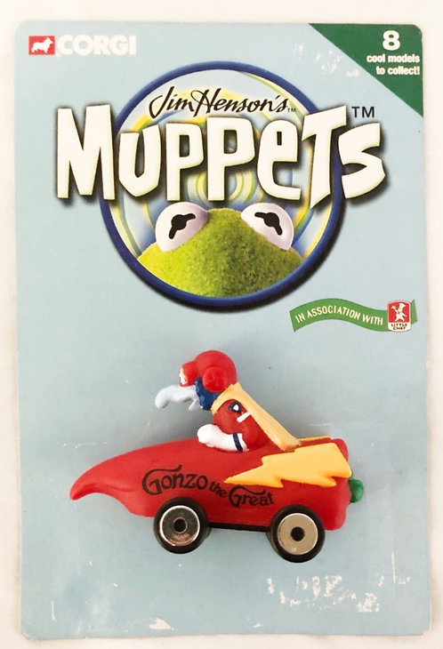 Muppets Muppets On Wheel Gonzo Little Chef Corgi 2000