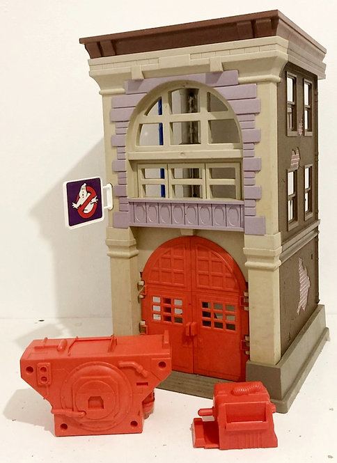 The Real Ghostbusters Fire Station Kenner 1986