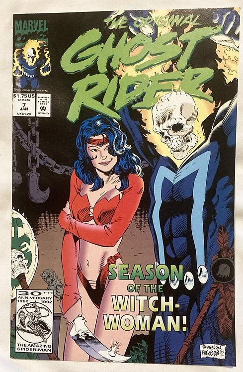 The Original Ghost Rider #7 January 1993