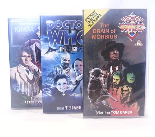 Vintage Doctor Who VHS Set (UK)