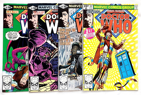 Doctor Who First Appearance Marvel Premiere Comic Set