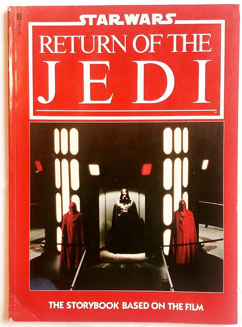 Vintage Star Wars Return Of The Jedi Story Book 1983