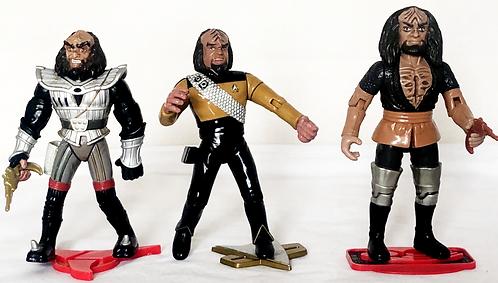 Star Trek The Next Generation Klingon Figure Set