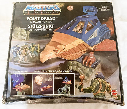 He-Man And Masters Of The Universe Talon Fighter Point Dread Mattel 1983