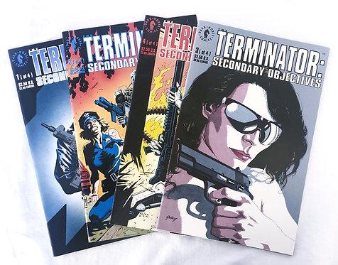 Dark Horse The Terminator : Secondary Objectives Comics x4