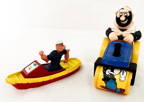 Vintage Popeye Die-Cast Set Corgi/Lesney