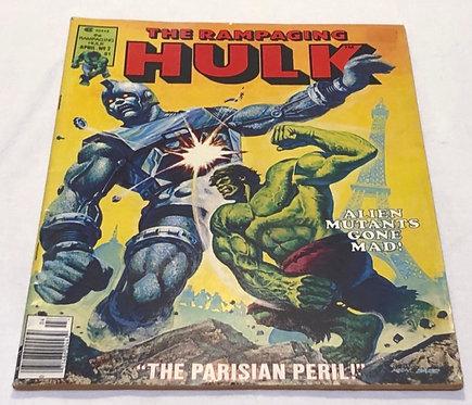 The Rampaging Hulk Comic #02 1977