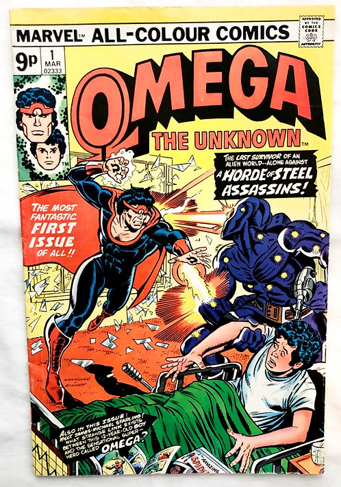 Marvel Omega The Unknown #1 March 1967
