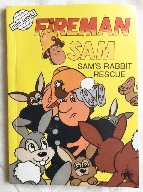 Fireman Sam Sam's Rabbit Rescue Mini World 1987