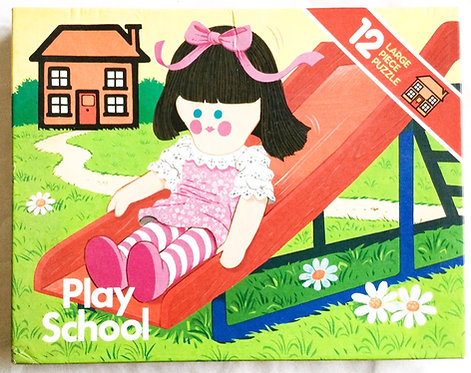 Play School Jigsaw Puzzle Arrow 1981