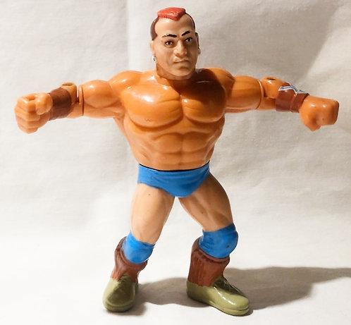 Vintage WWF Tatanka Hasbro