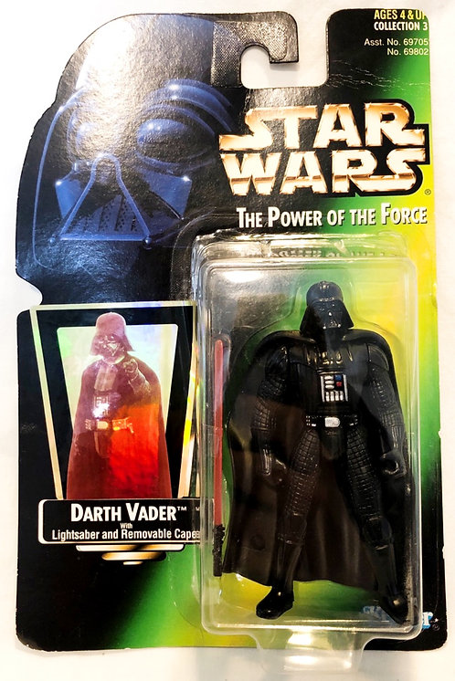 Star Wars The Power Of The Force Darth Vader Figure Kenner 1997