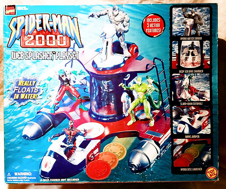 Spider-Man 2000 Web Splasher Playset Toy Biz 2000
