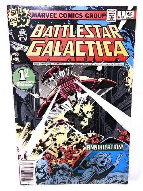 Vintage Battlestar Galactica Comic No. 1