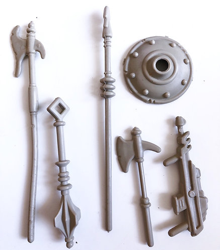 Vintage Masters Of The Universe Weapon Set