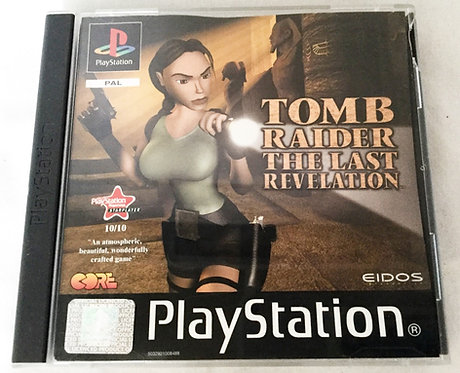 Tomb Raider The Last Revelation PlayStation Game UK (PAL)