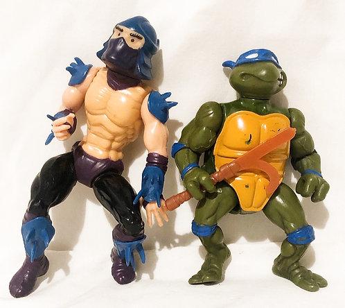 Teenage Mutant Hero Turtles Figure Set Playmates 198