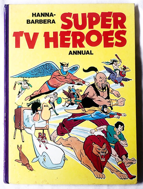 Hanna-Barbera Super TV Heros Annual 1976